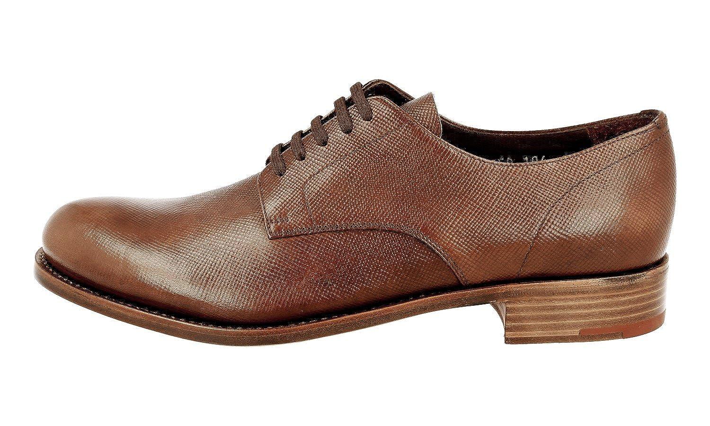 Men's 2EA104 Saffiano Leather Business Shoes