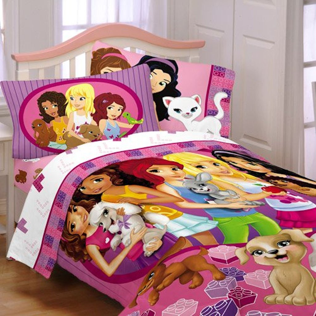 Lego Friends Girl Twin Comforter