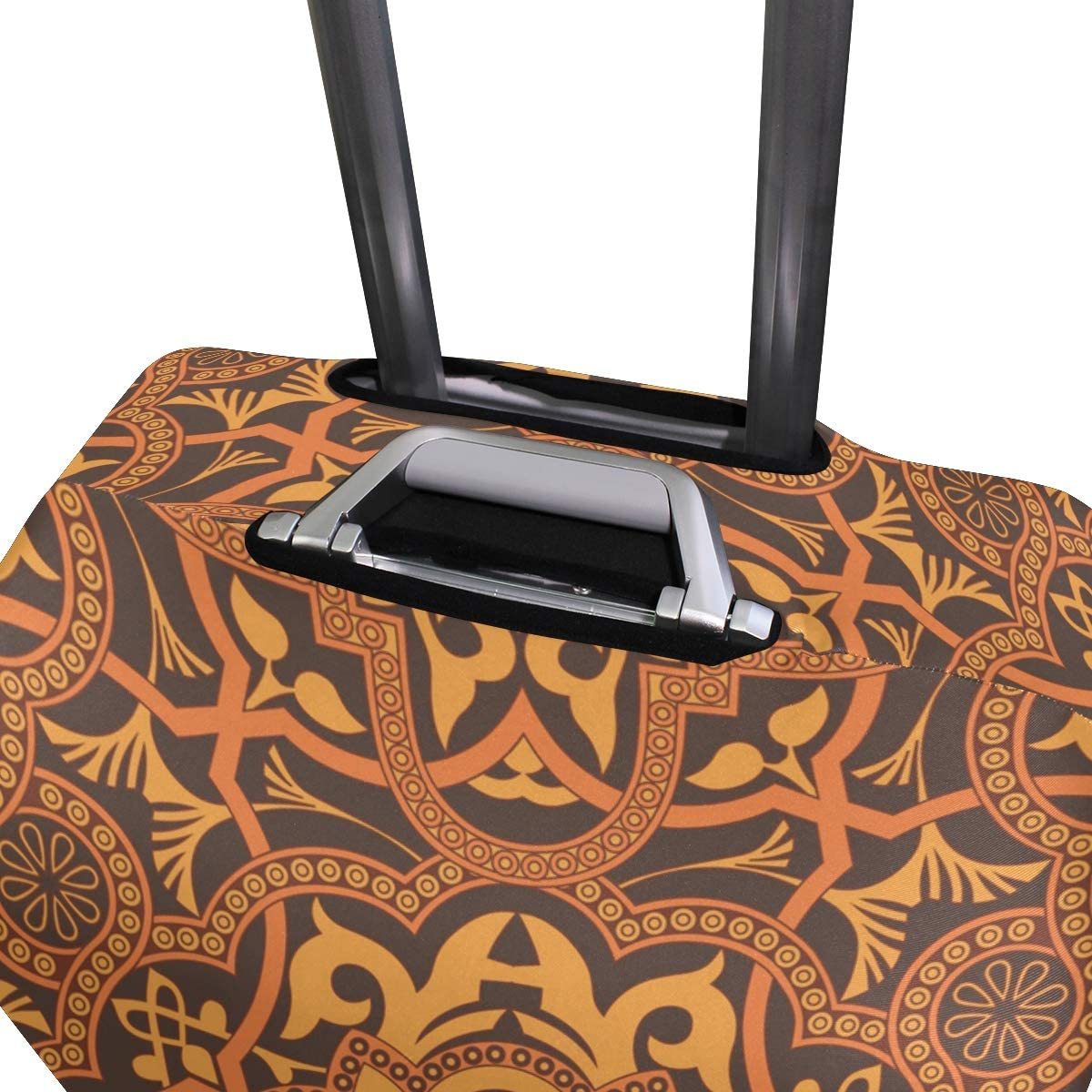Elastic Fits 26-28 Inch Symmetrical Stylish Ornament Travel Elastic Suitcase Protector Luggage Cover