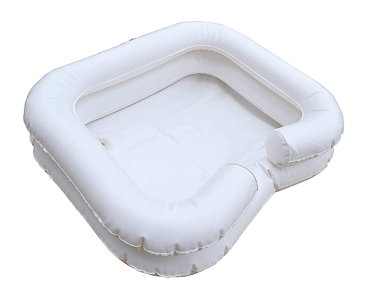 Hinchable de pelo lavado lavabo se puede inflar por boca o ...