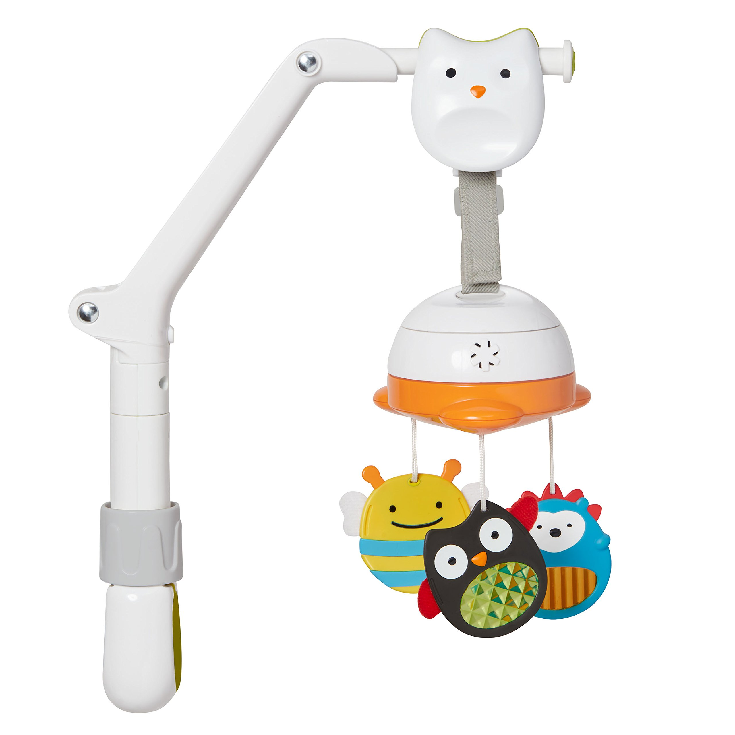 Skip Hop Portable Baby Mobile, Explore and More Zoo Characters