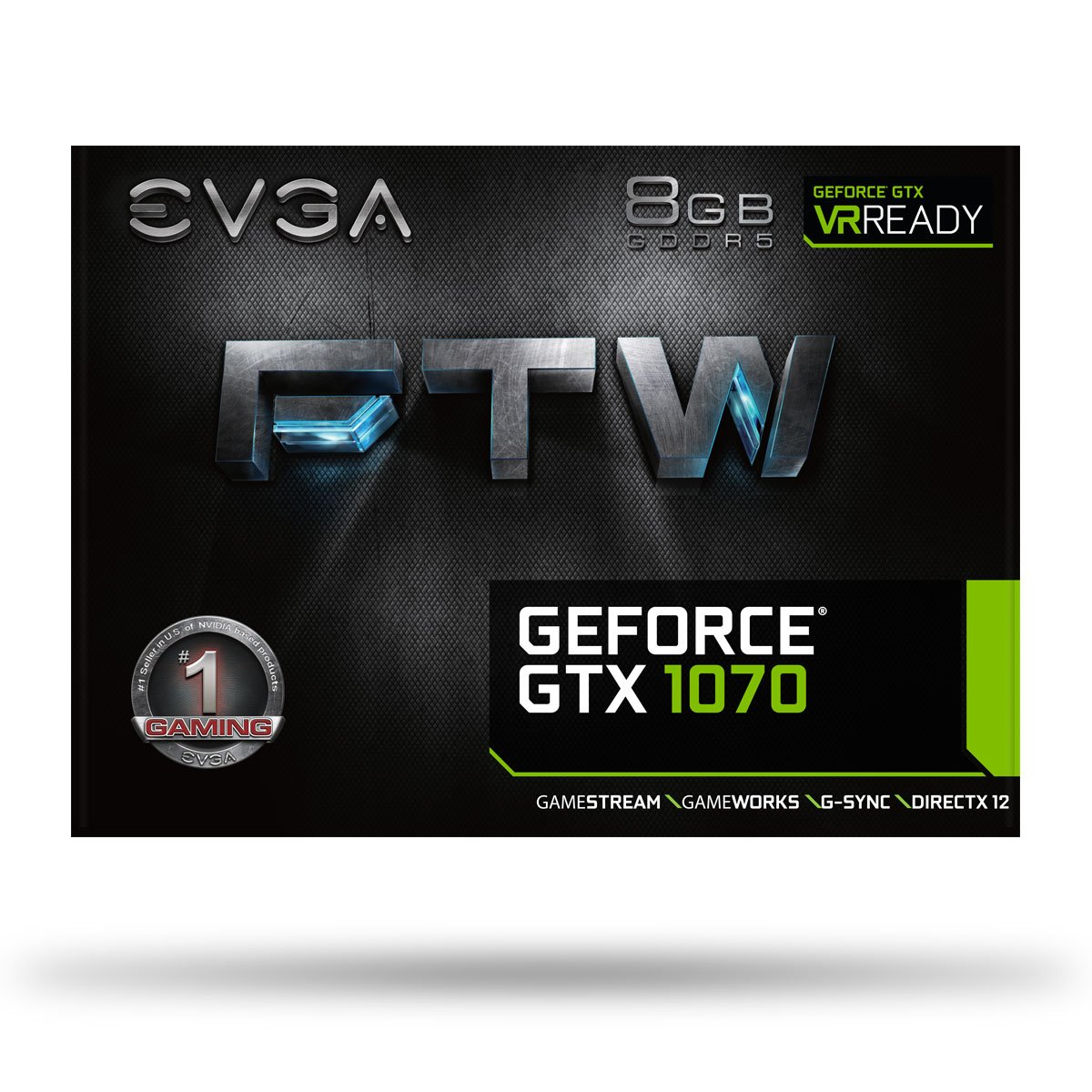 EVGA GeForce GTX 1070 FTW GAMING ACX 3.0, 8GB GDDR5, RGB LED, 10CM FAN, 10 Power Phases, Double BIOS, DX12 OSD Support (PXOC) Graphics Card 08G-P4-6276-KR by EVGA (Image #8)