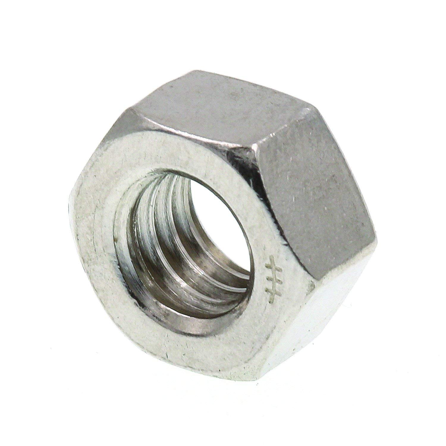 New Life 33-655H Hex Nut Pack of 50 Piece 5//16 in-18 Zinc Finish