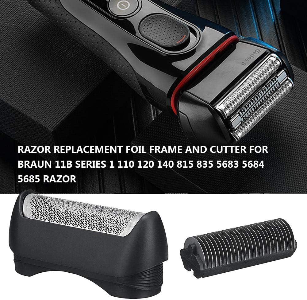 starte Cabezal De Repuesto para Máquina De Afeitar Braun 11B Series Razor Compatible con Los Modelos 1,110,120,130,140,150,5682,5683,5684: Amazon.es: Hogar