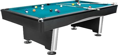 Mesa de billar Dynamic Triumph, pastelitos (pie) 7, colour negro, Aire libre: Amazon.es: Deportes y aire libre