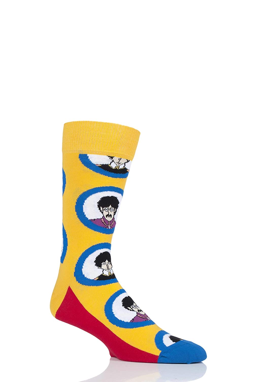Happy Socks Los Beatles Pepperland Calcetines De Los Hombres, Azul/multi: Amazon.es: Ropa y accesorios