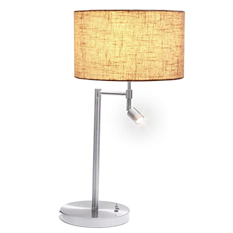 Lámpara de Mesa con Luz de Lectura, AVAWAY Lámpara de Mesa ...