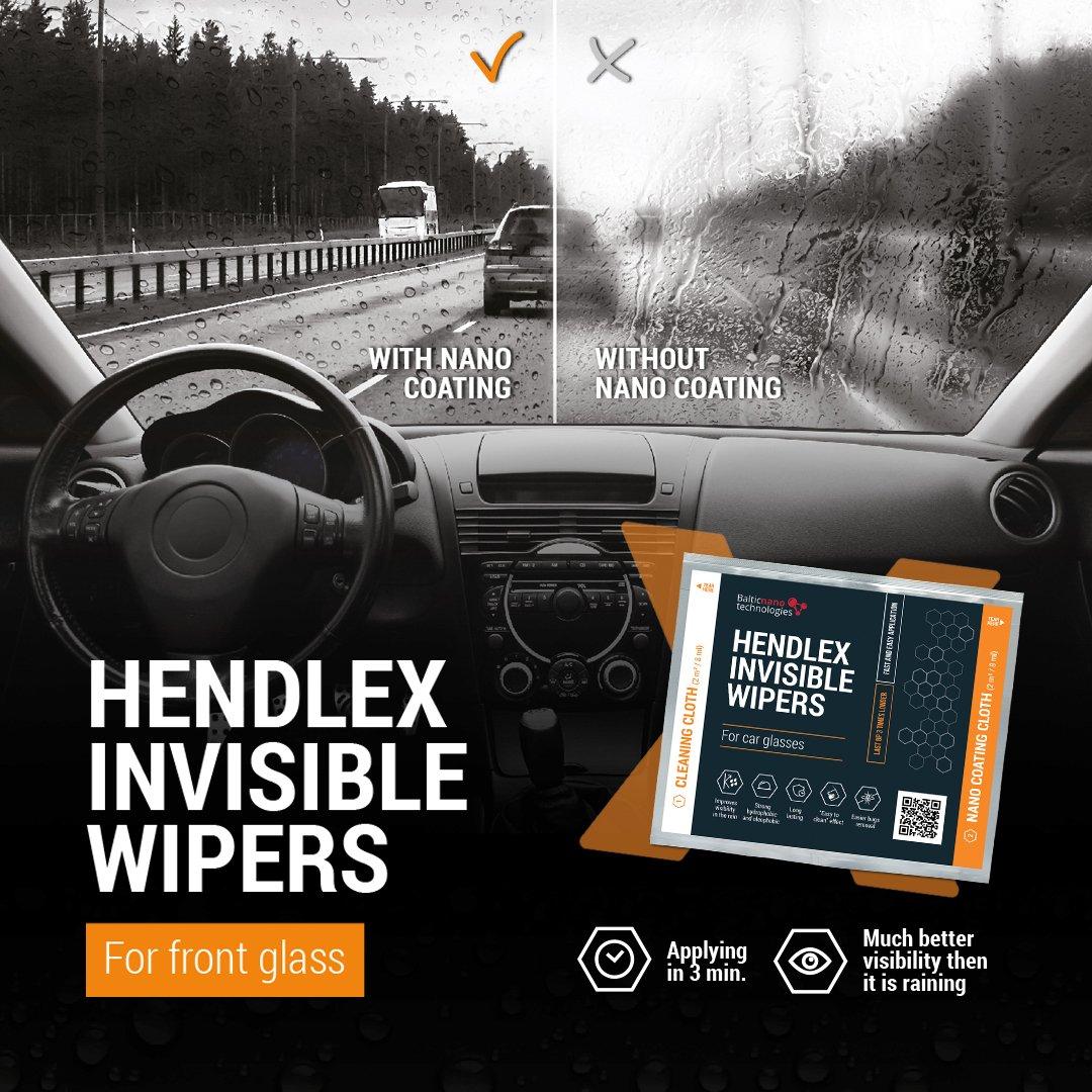 Hendlex Invisible Wipers Nano repelente Agua Parabrisas Para Cristales de Coches | Antilluvia Parabrisas Invisible: Amazon.es: Coche y moto