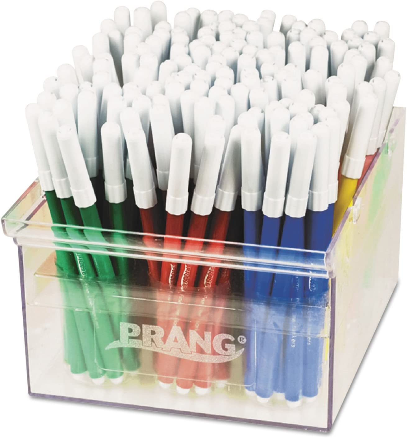 Prang 80744 Prang Markers, Fine Point, 12 Assorted Colors
