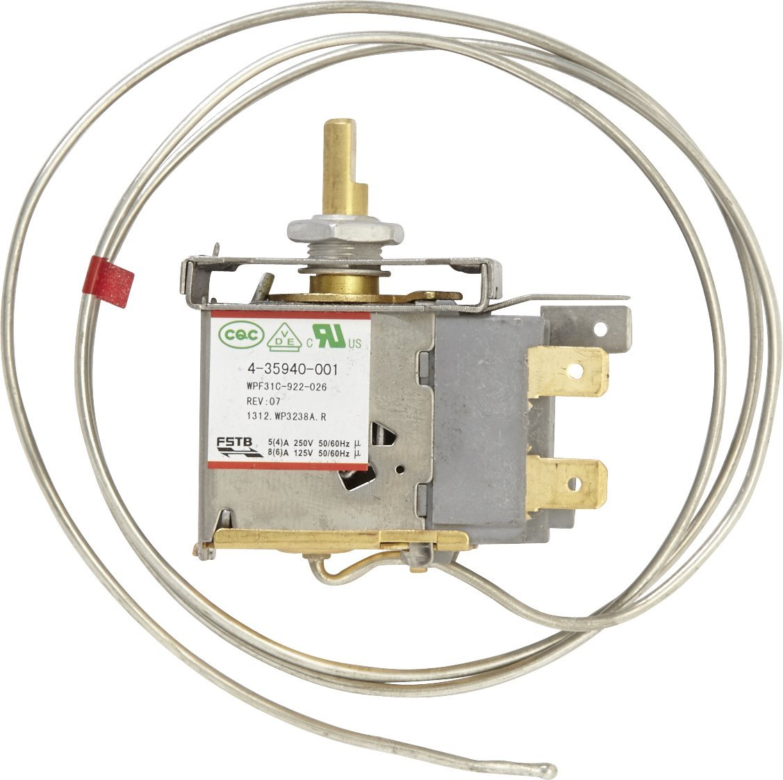 Whirlpool 4-35940-001 - Termostato congelador: Amazon.es ...