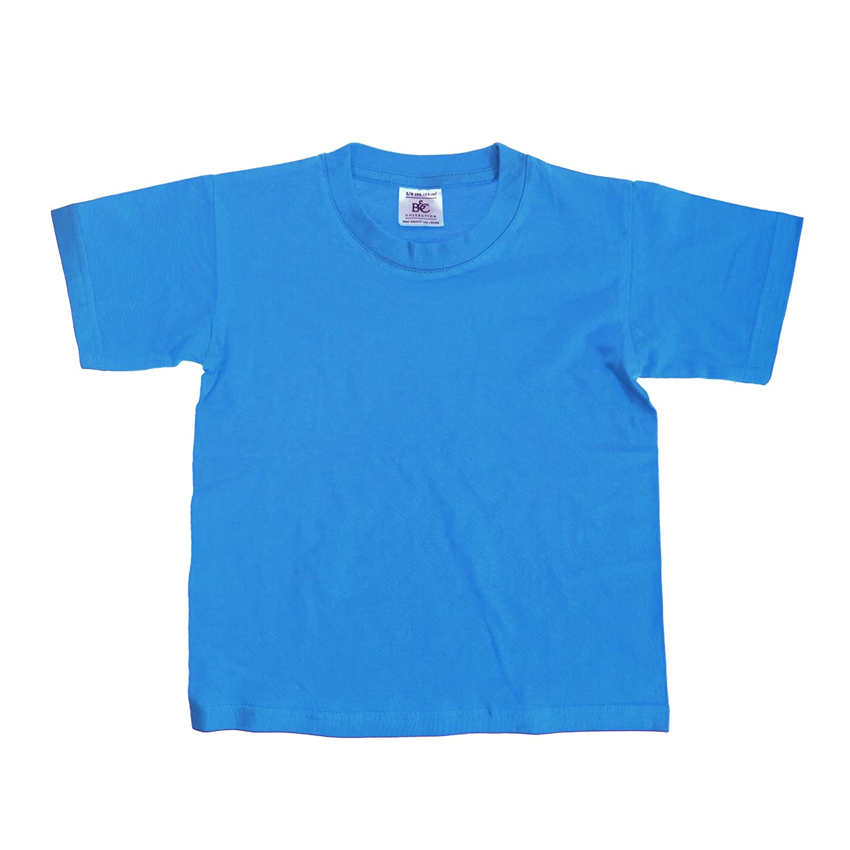 B/&C Kids//Childrens Exact 150 Short Sleeved T-Shirt