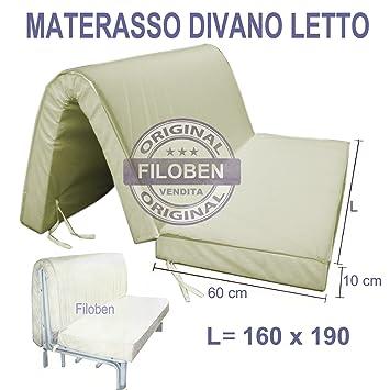 Colchon sofà cama 160x190 H 10 cm