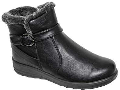Foster Footwear Botines de Material Sintético Mujer Chica h38W5pdD3