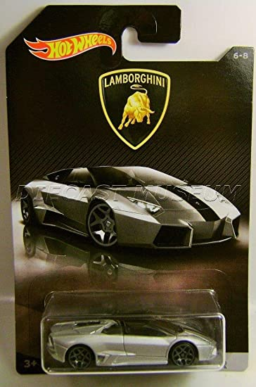 Hot Wheels 2017 Lamborghini Series Lamborghini Reventon Roadster 6/8, Silver
