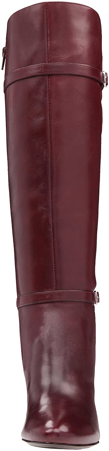 Lauren Ralph Lauren Women's Sabeen-Bo-DRS Boot B01F4R3BB8 5 B(M) US|Port