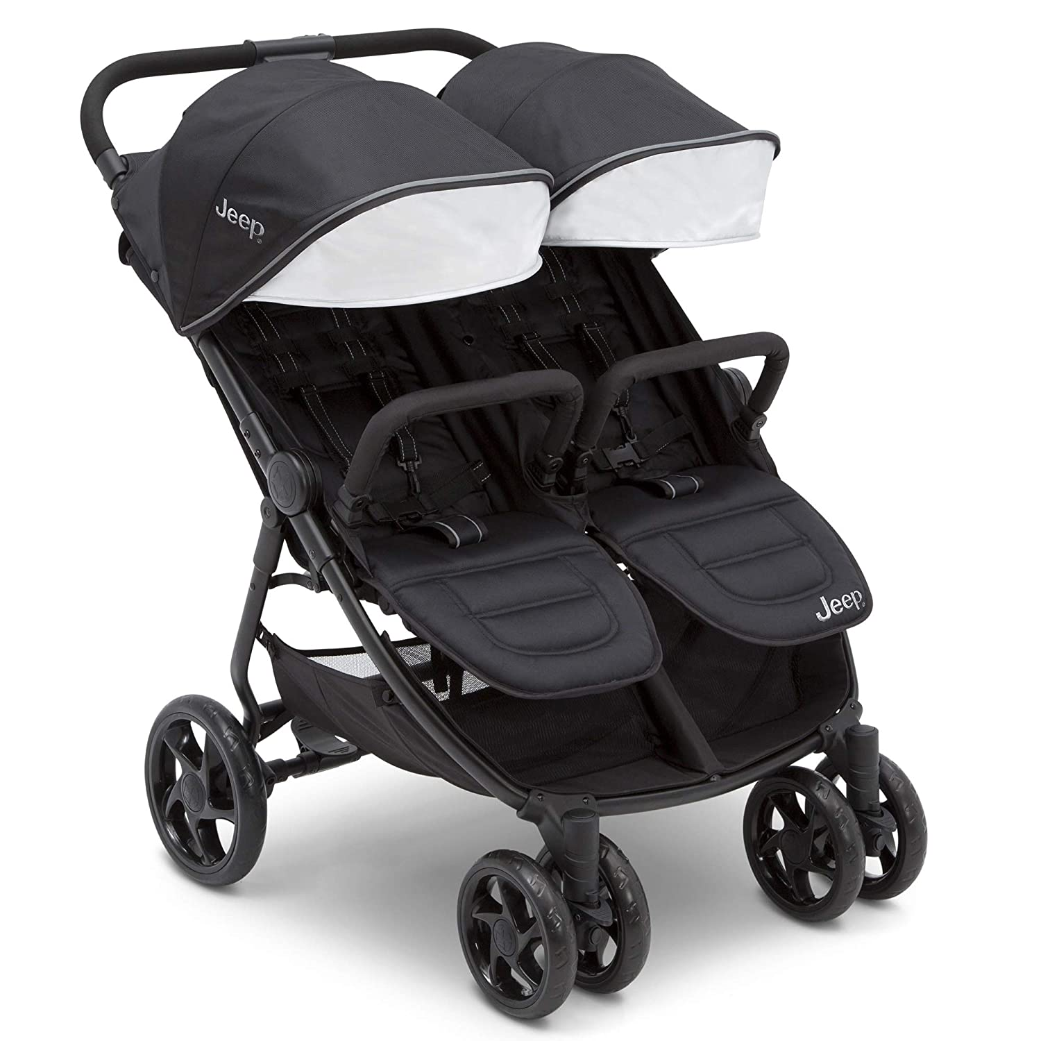 Jeep Destination Ultralight Side x Side Double Seat Baby Stroller