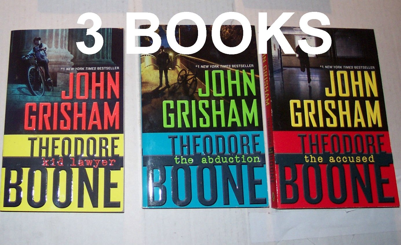 John Grisham Theodore Boone Books product image