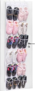 MaidMAX 24-Pocket Hanging Shoe Storage Rack