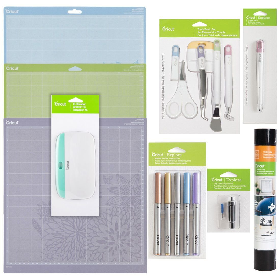 Provo Craft Cricut Explore Complete Starter Set and Cricut XL Scraper