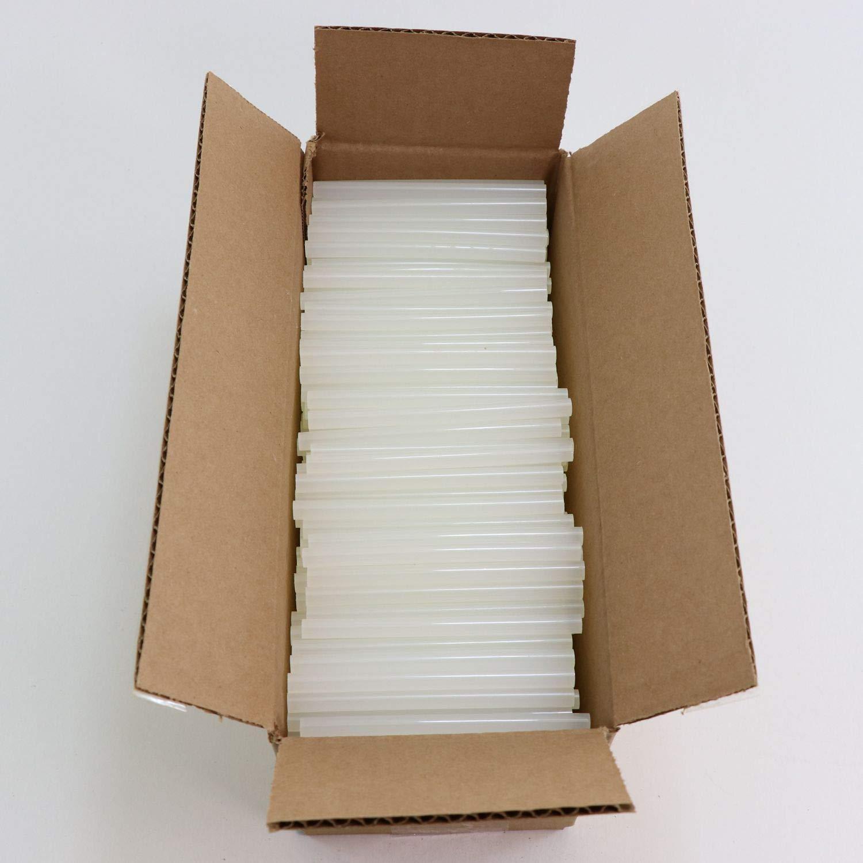 725M54 Mini Size 4'' Clear Hot Glue Sticks - 5 lb Box by Surebonder