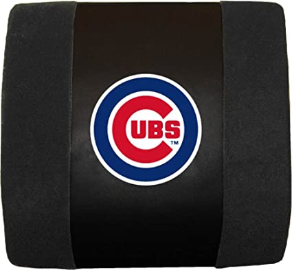 Black Fremont Die MLB Chicago Cubs Lumbar Support Cushion