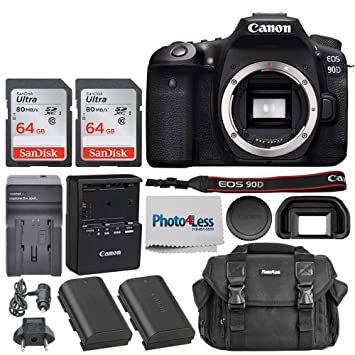 Amazon.com: Cámara réflex digital Canon EOS 90D (solo cuerpo ...