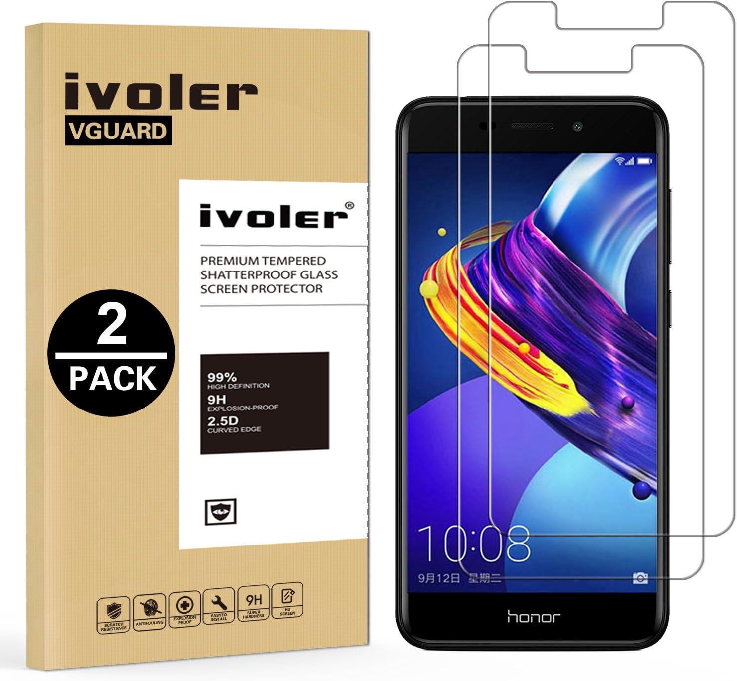 ivoler [2 Unidades] Protector de Pantalla para Huawei Honor 6C Pro ...