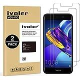 iVoler [2 Pack Pellicola Vetro Temperato Huawei Honor 6C PRO [Garanzia a Vita], Pellicola Protettiva, Protezione per Schermo