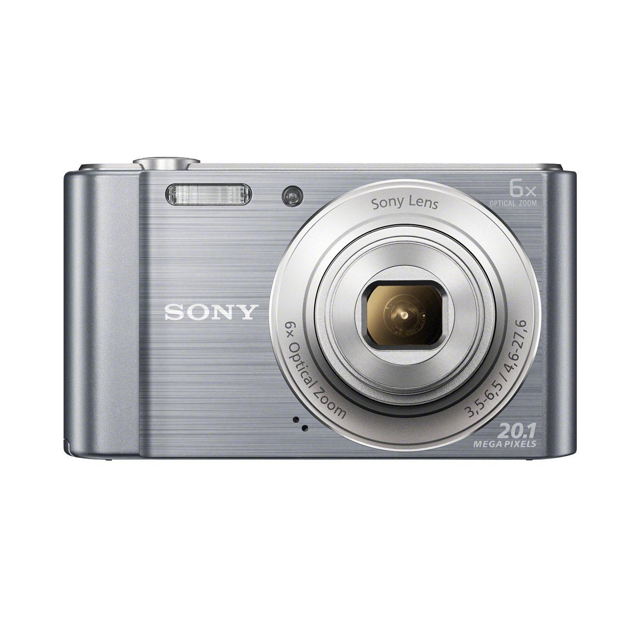 Sony DSC-W810 Camera Silver 20.1MP, 6x Zoom 2.7LCD