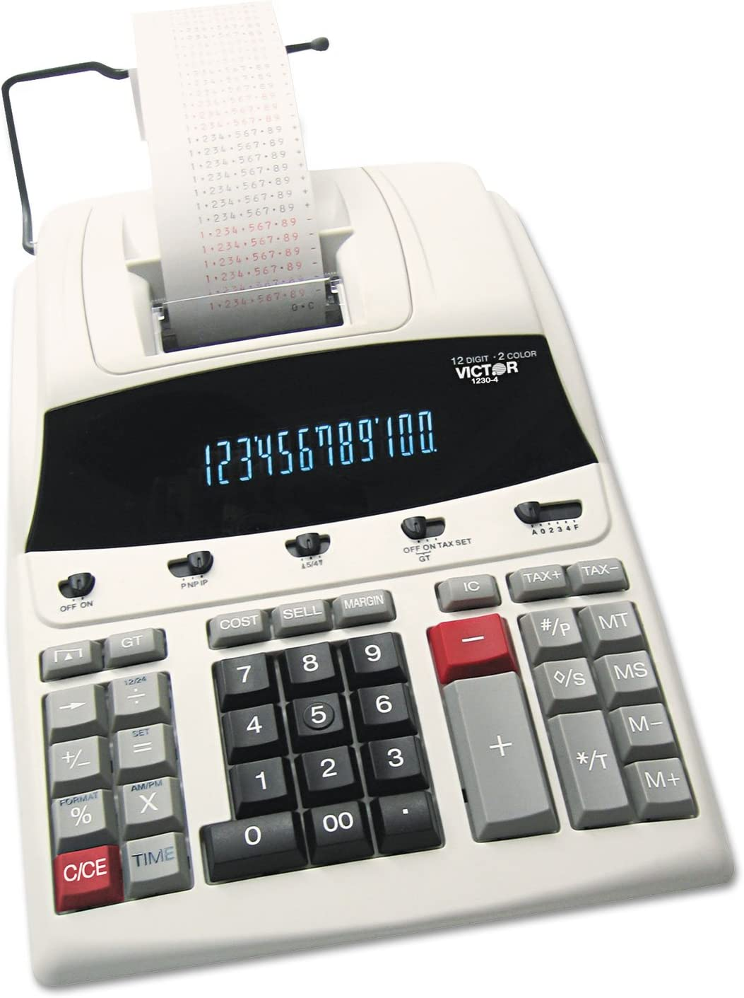 CANON WIDE FORMAT MP11DX Two-Color Printing Desktop Calculator Black//Red Print MP11DX 3.7 Lines//Sec