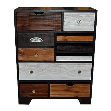 Kommode Sideboard Anrichte Finca Kare Design Mit 10 Schubladen