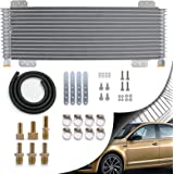 Transmission cooler 40,000 GVW with Mounting Hardware. Advanced cooling protection for car, van, light truck, R.V. and towing