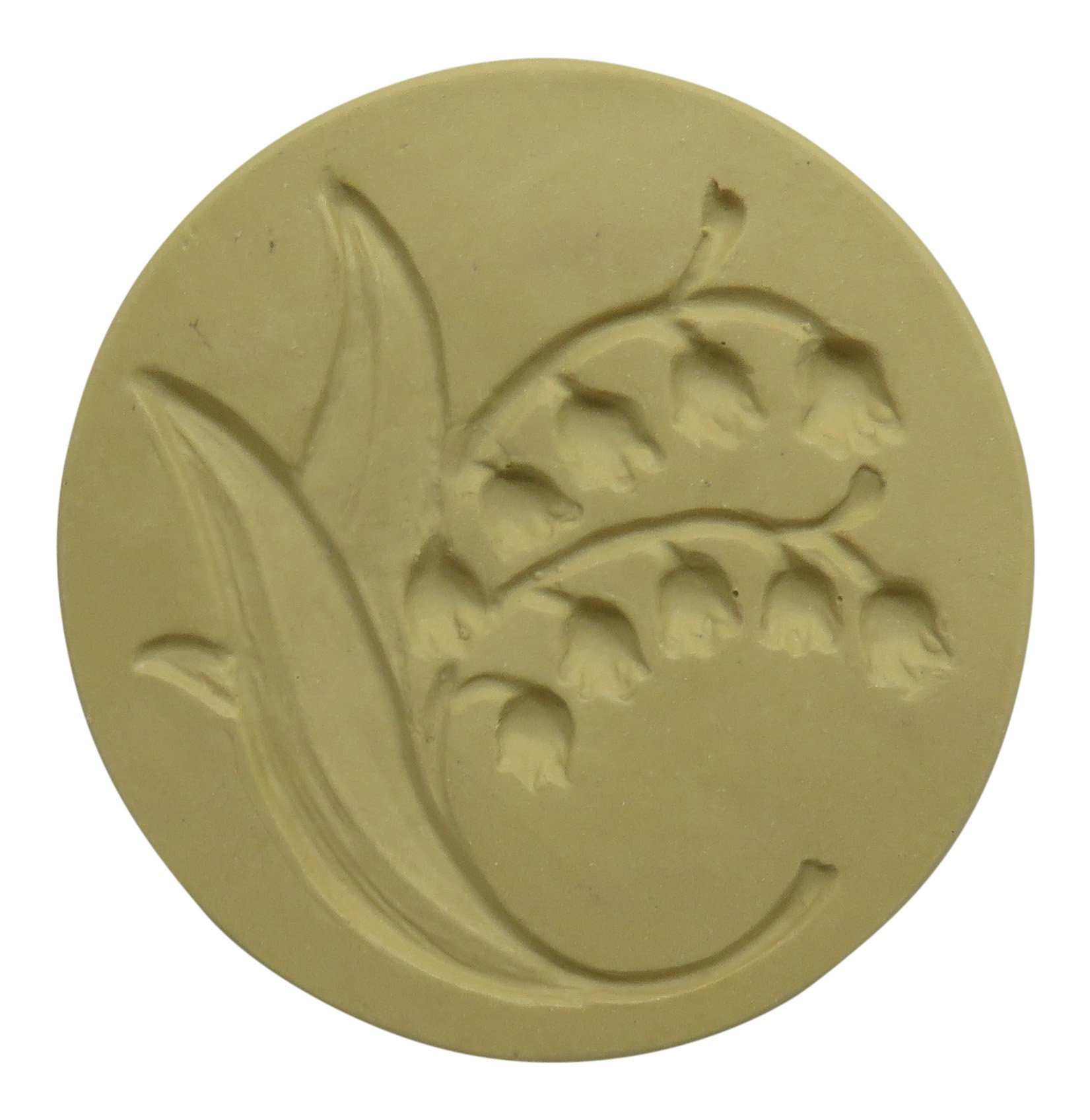 Brown Bag Lily of the Valley Cookie Stamp - Art Nouveau Flower Series