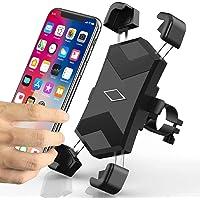 Niluoya - Soporte para teléfono de bicicleta, ajustable de 360°, accesorios, manubrio de bicicleta para iPhone 11 Pro X…