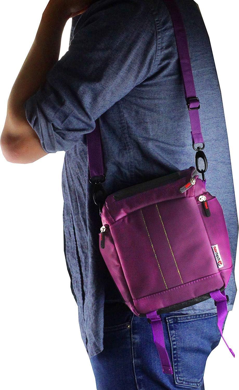Navitech Purple Mini PC Bag Case Compatible with The ASUS PN61 Mini PC