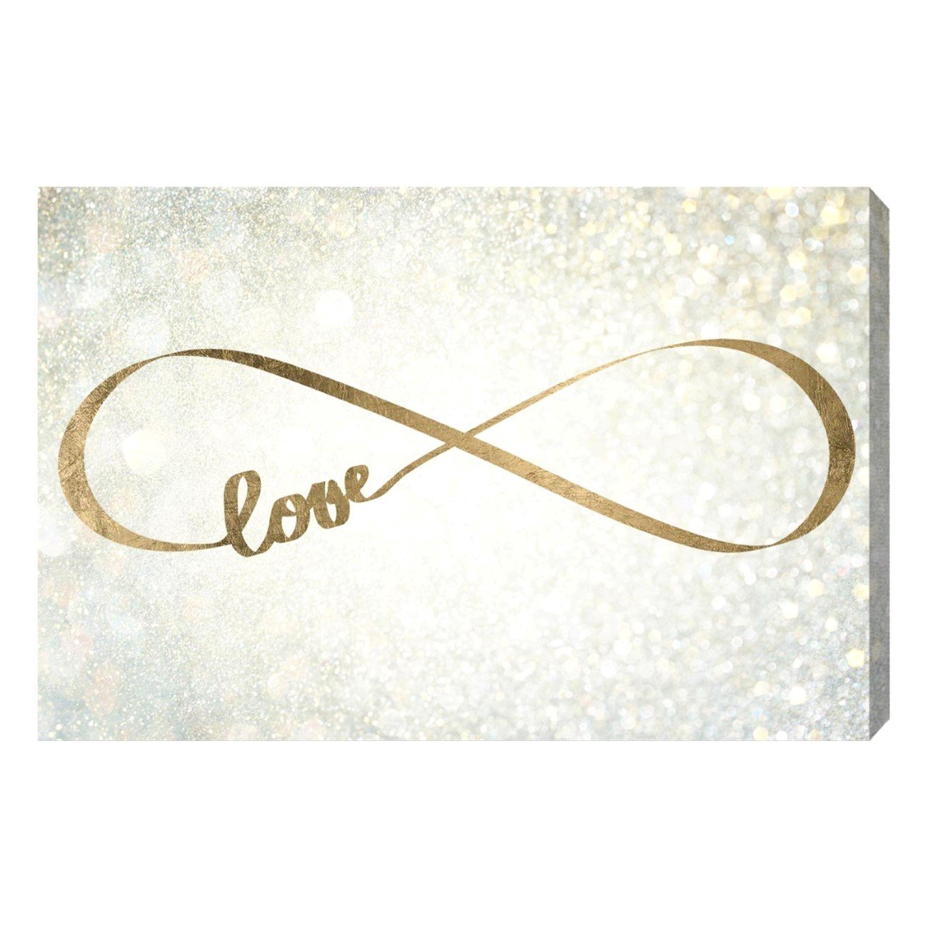 The Oliver Gal Artist Co. 'Sparkle Love' Canvas Art, 30''x20''