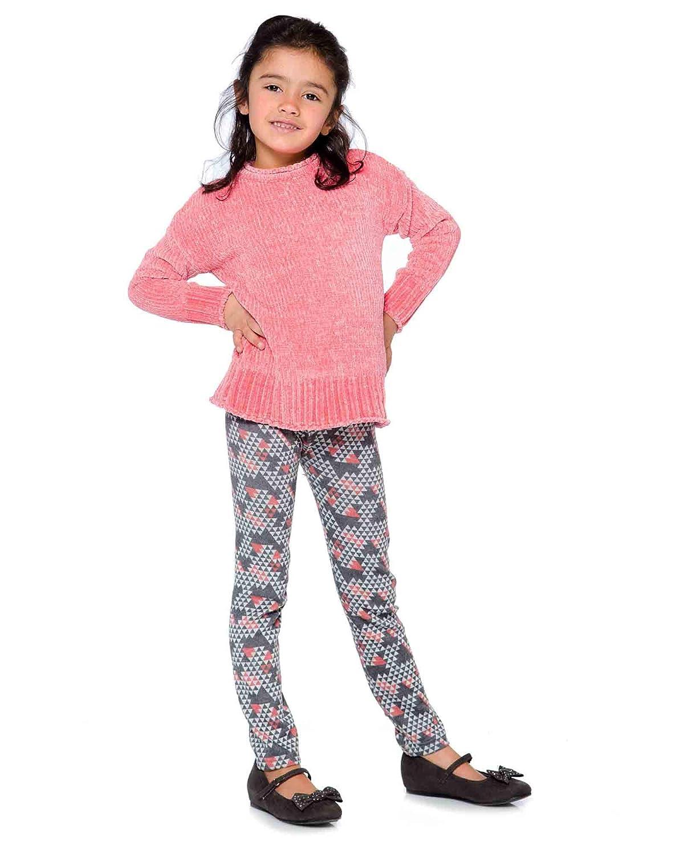 Sizes 5-12 Deux par Deux Girls Chenille Sweater Unicorns are Real