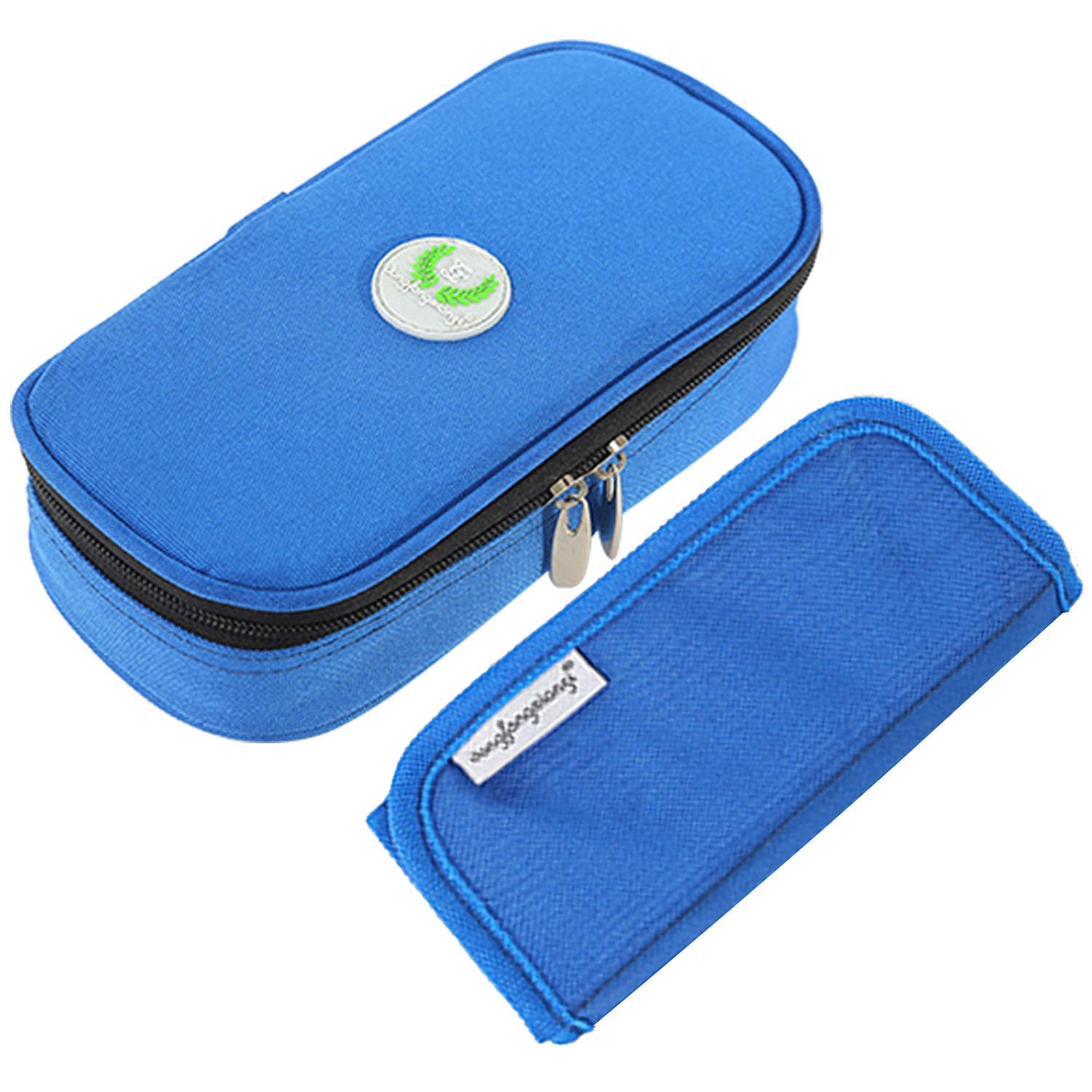 Vococal Diabetic Case, Portable insulin Cooler Bag Medical Travel Camping Organizer for Insulin Pen Syringes Storage Pouch Black