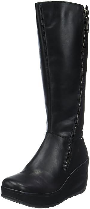 Mujer Para Botas Amazon Jate917fly Altas Zapatos Y London Fly es UXqOBB 47caaf531cf