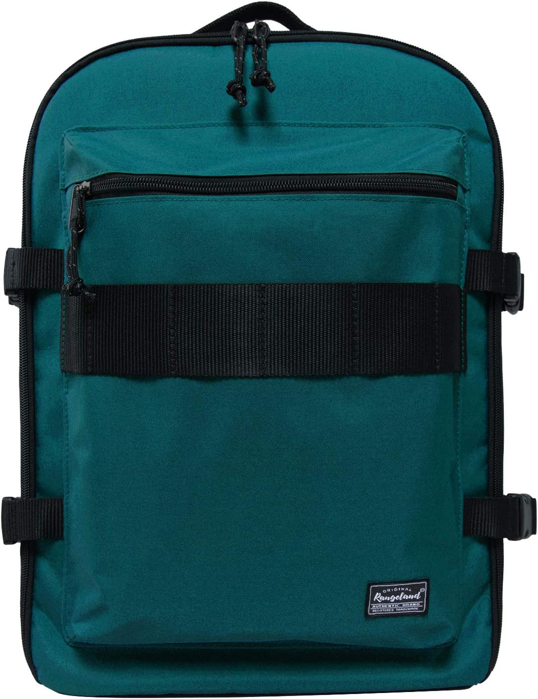 Rangeland Underseat Backpack for Airlines Unisex Weekender Backpack with laptop pocket 17L Lightweight Baggage for Gym Commute Day Trip, Bluish Green