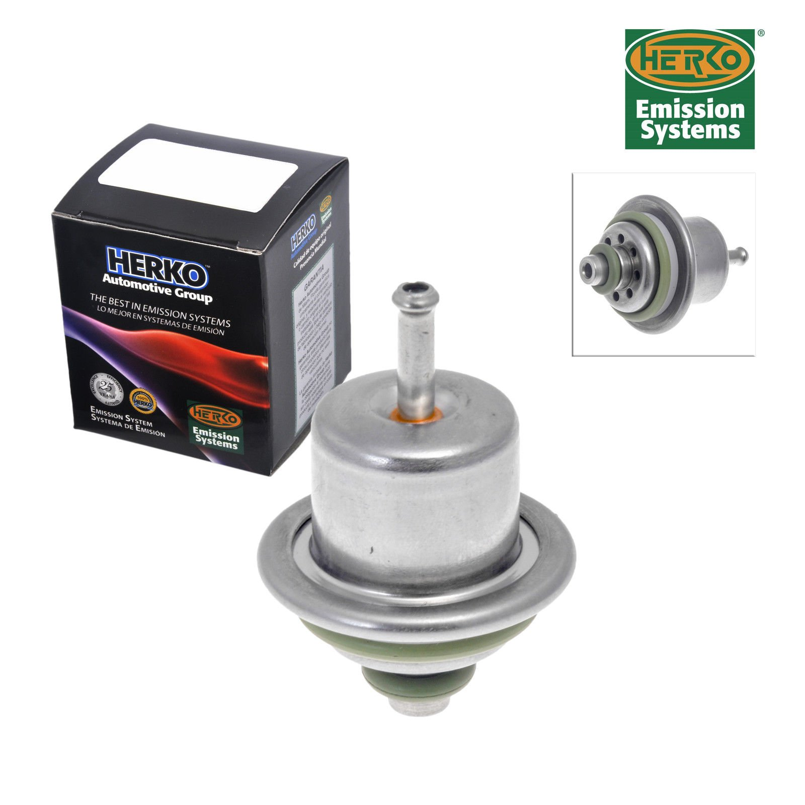 AD Auto Parts New Fuel Pressure Regulator Herko PR4009 for Jeep Dodge 1991-1998 by AD Auto Parts