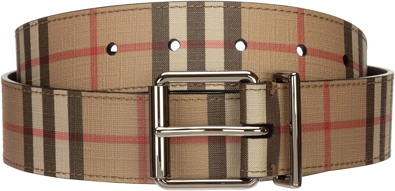 Burberry hombre cinturón beige