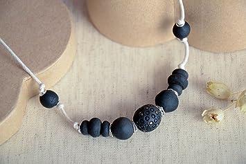 faecbd4fe531 Collar hecho a mano bisuteria artesanal de cuentas regalo para mujer joven   Amazon.es  Hogar