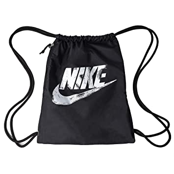 fafbc19c49 Nike Heritage GMSK 2-GFX Sac de Sport Mixte Adulte, Noir/Blanc ...