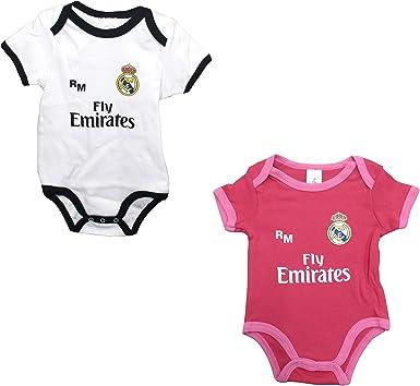 Set 2 Body Real Madrid Niños - Producto Oficial - Temporada 2018 ...