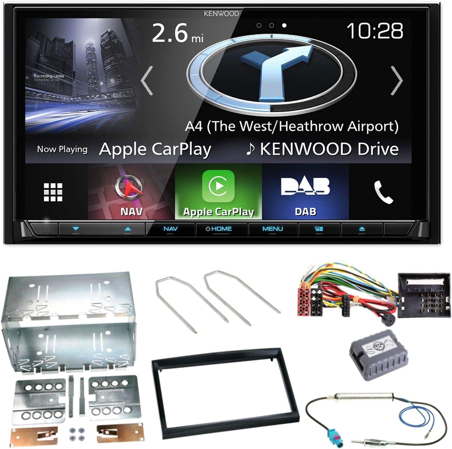 Kenwood DNX-7230DAB Radio Estéreo De Coche Barra De Vidrio Tipo Amplificado DAB Antena Aérea