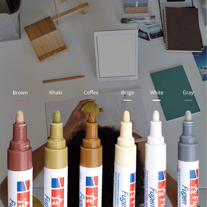 Lepeuxi Rotulador de reparaci/ón de lechada para lechada