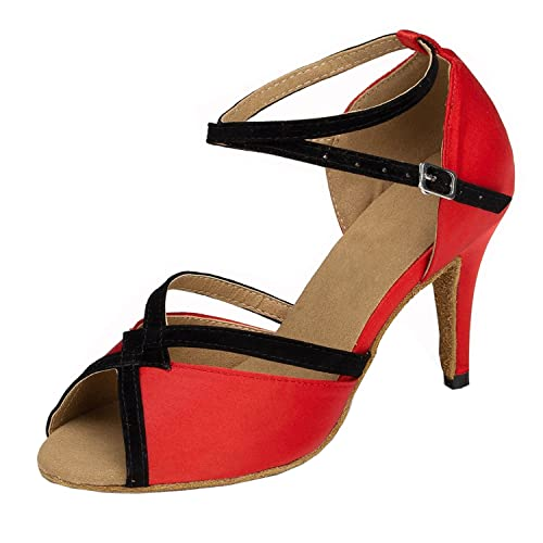 35 Danse Rouge Chaussures Minitoo Rouge Femme De 0YfxB
