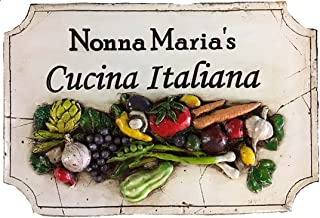 product image for Piazza Pisano Italian Cucina Personalized Kitchen Sign