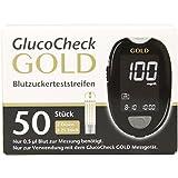 GlucoCheck Gold Blutzuckerteststreifen, 50 St